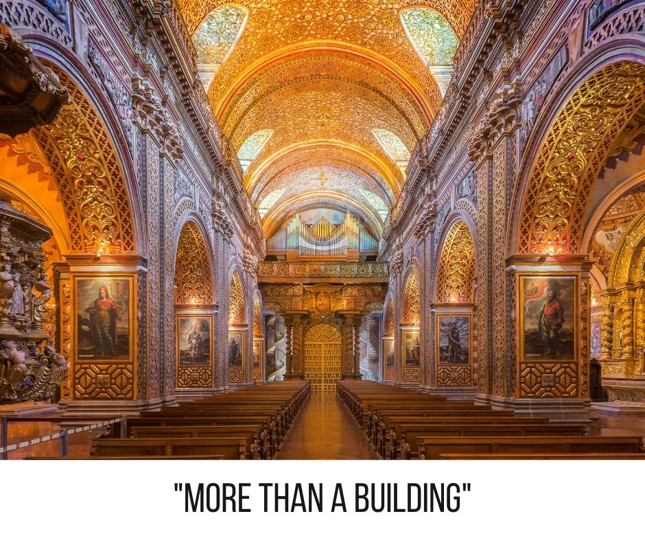 God's Temple is more than a building. It's a healthy body.